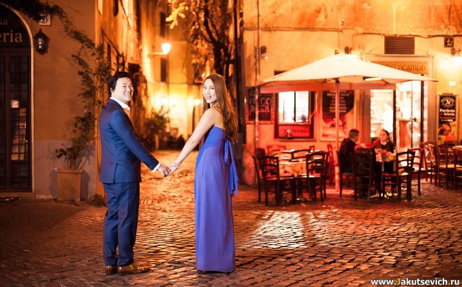 Счастливое начало семейной жизни в Риме