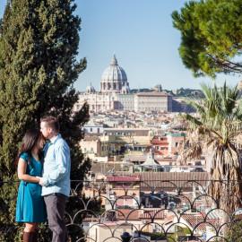 Как отметить 5 годовщину свадьбы: фотосессия в Риме Маргариты и Брукса