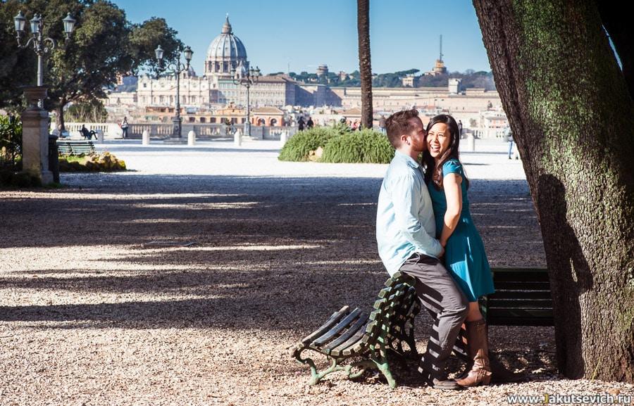 Профессиональный фотограф в Риме и Италии