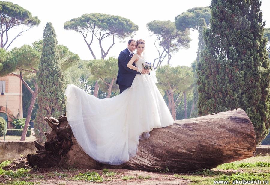 Парк Вилла Боргезе в Риме
