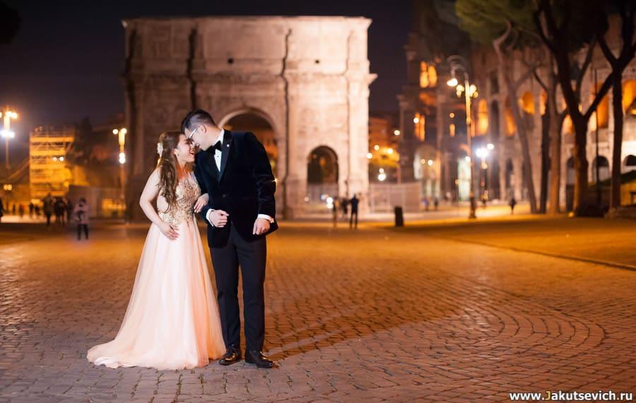 Что посмотреть ночью в Риме?