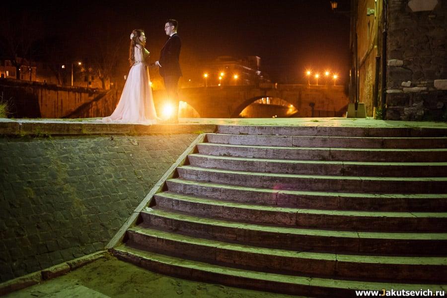 Ночь в Риме фото