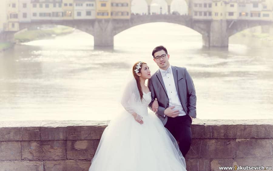Свадебный фотограф во Флоренции