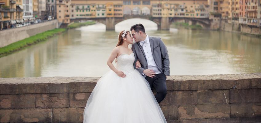 Свадебная фотосессия во Флоренции