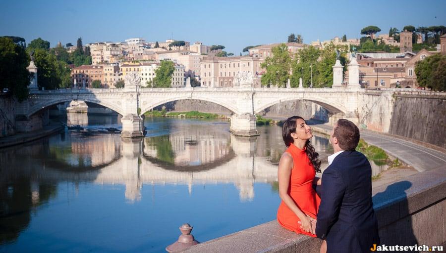Фотосессия в Риме в июне