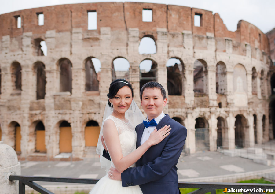 Свадебное путешествие из Казахстана в Италию