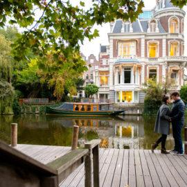 Осенняя фотосессия в Амстердаме в октябре