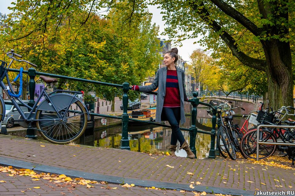 Фото из Амстердама осенью