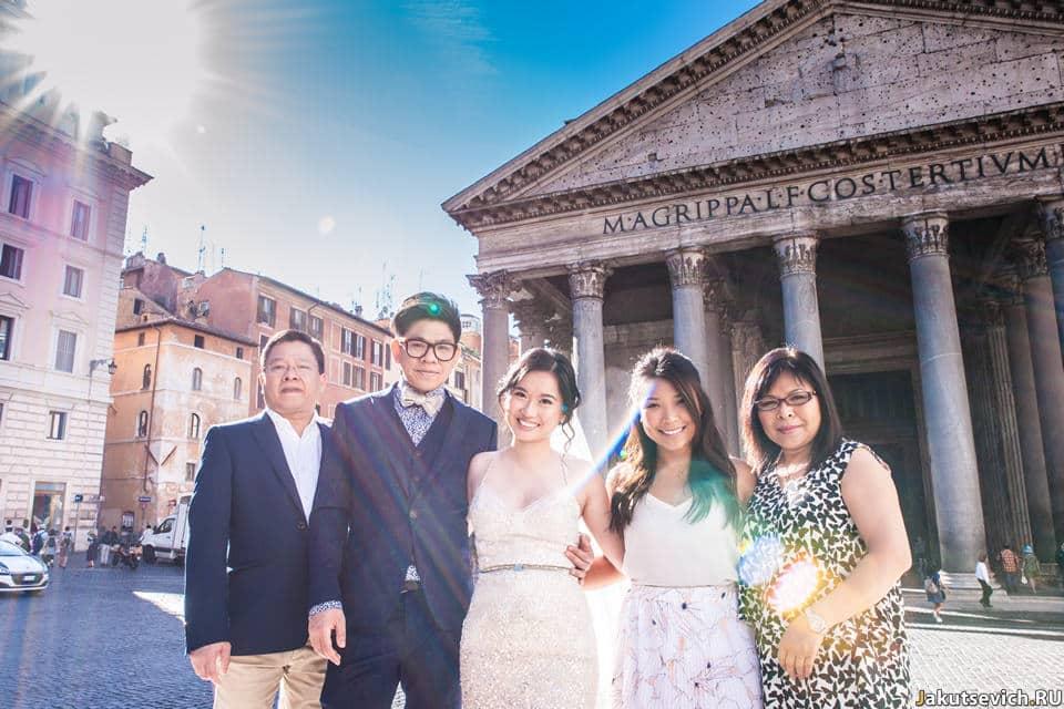 Фотосессия в сентябре в Италии