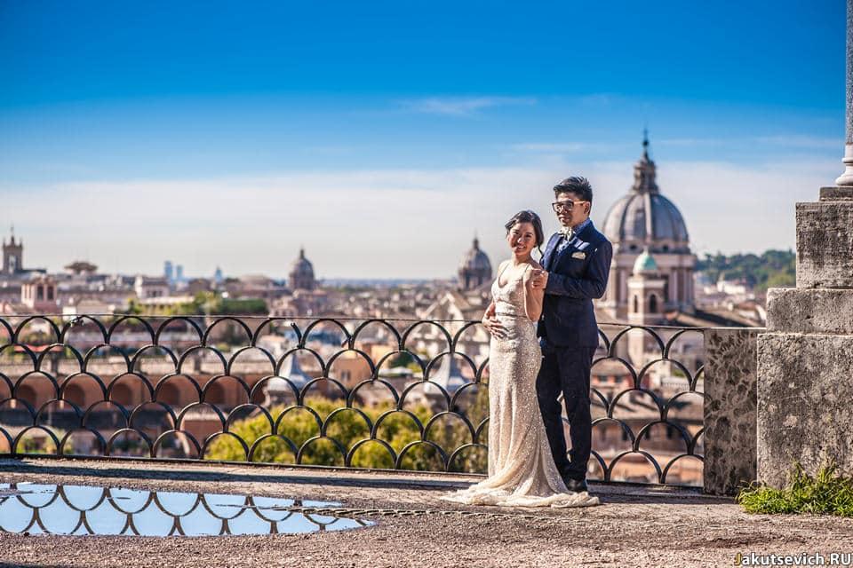 Лучшая смотровая площадка в Риме
