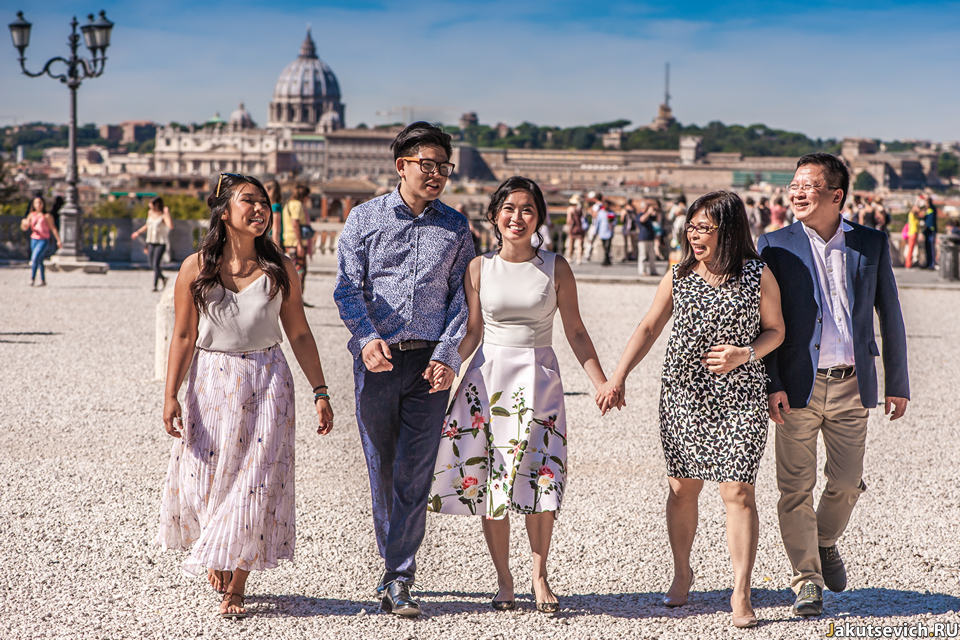 Идеи для семейной фотосессии в Италии