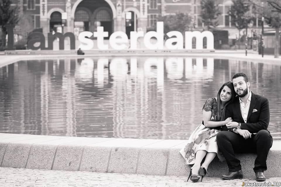 Идея для фотосессии в Амстердаме