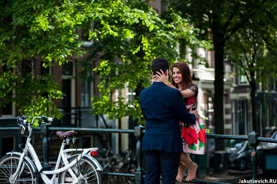 Влюбленные в Амстердаме