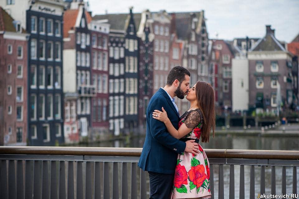 Свадебное путешествие в Амстердам