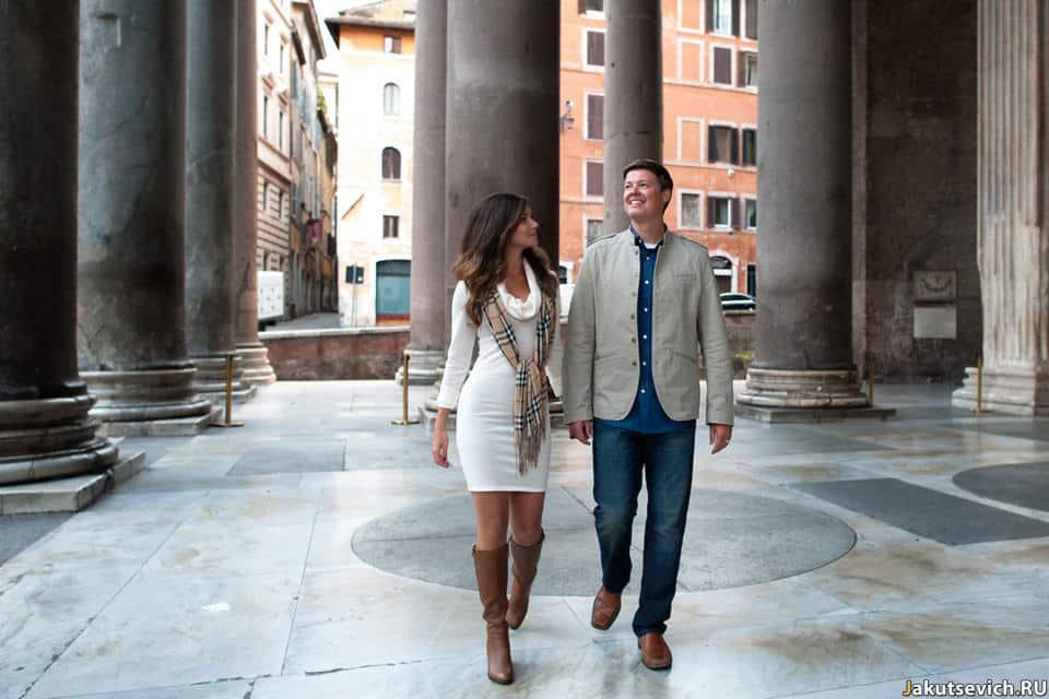 Пантеон в Риме фото