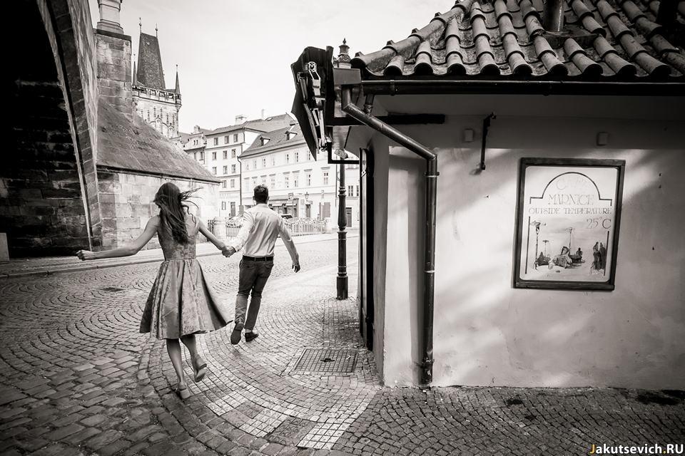 Пражский фотограф на свадьбу