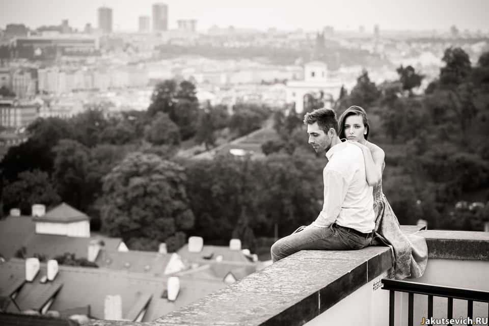 Романтическая фотосессия в Праге