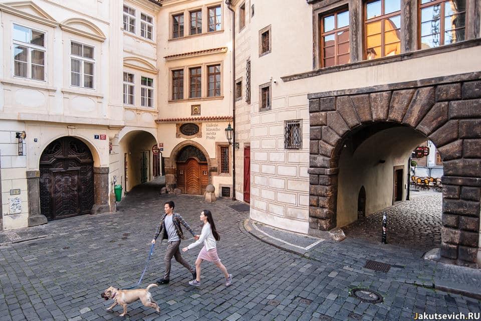 Фото Прага улочки