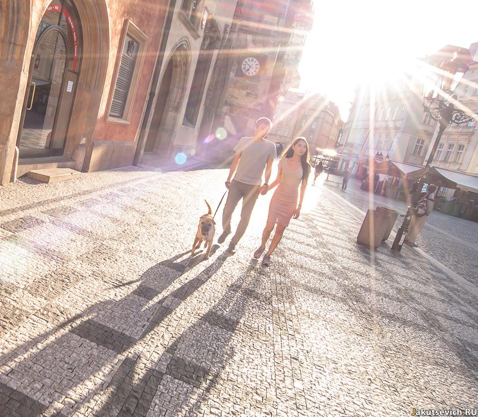 Утренняя Прага в июне фото