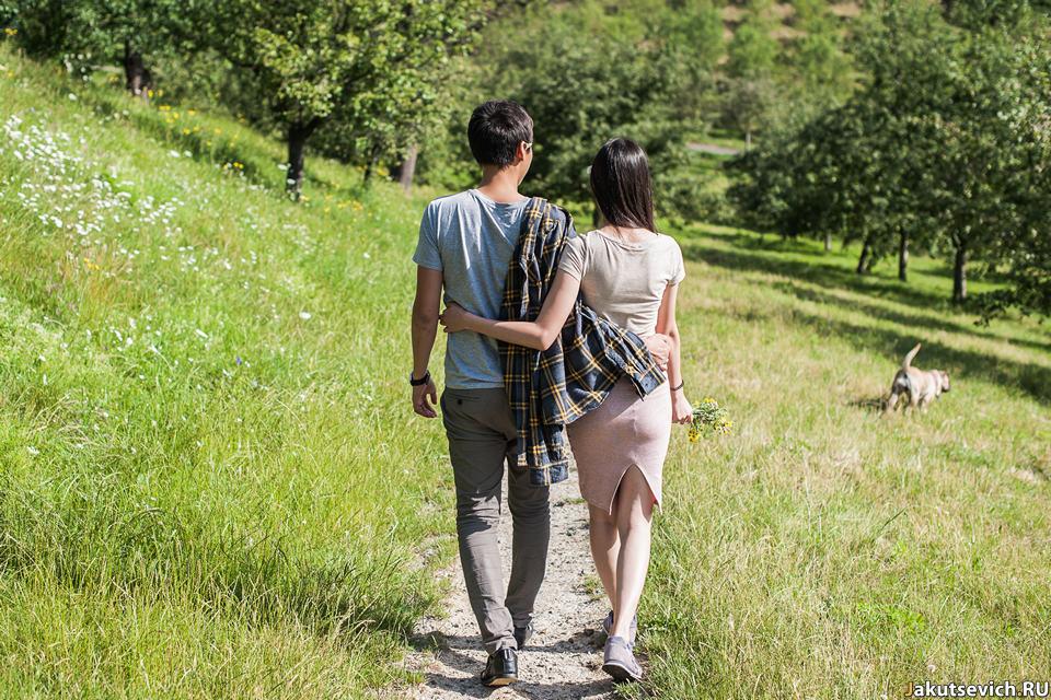 Романтическая фотосессия в Праге летом