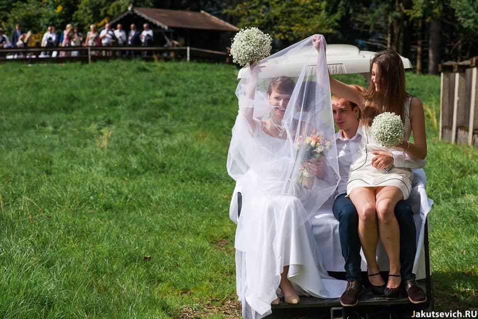 Символическая свадебная церемония в Германии