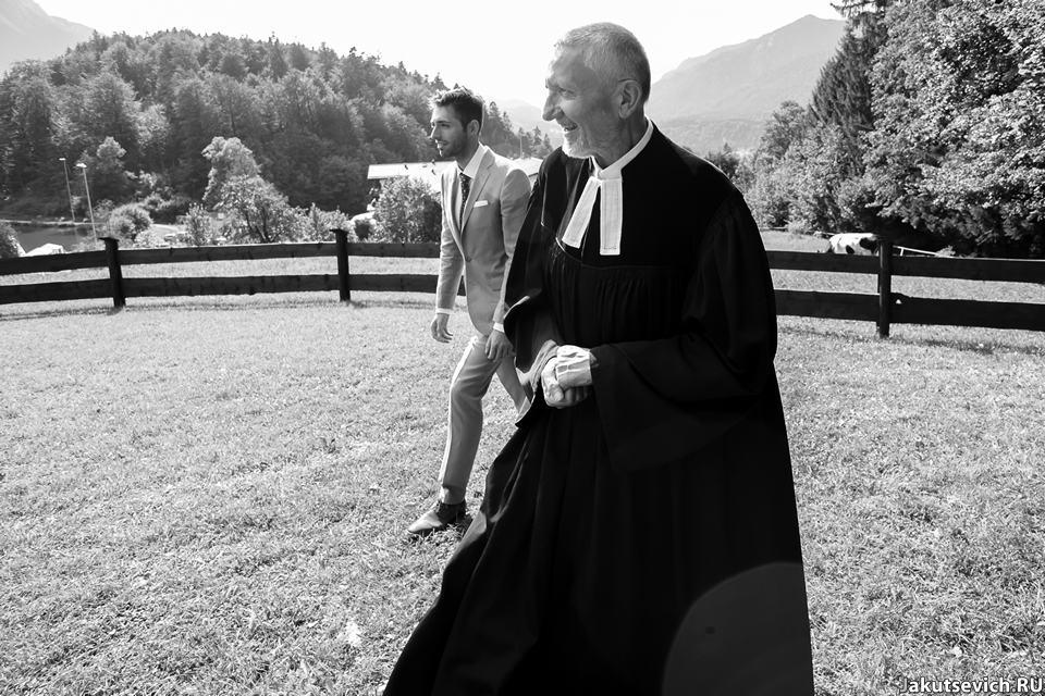 Свадебная фотосессия в Альпах