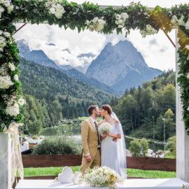 Свадьба в Альпах Саши и Кевина