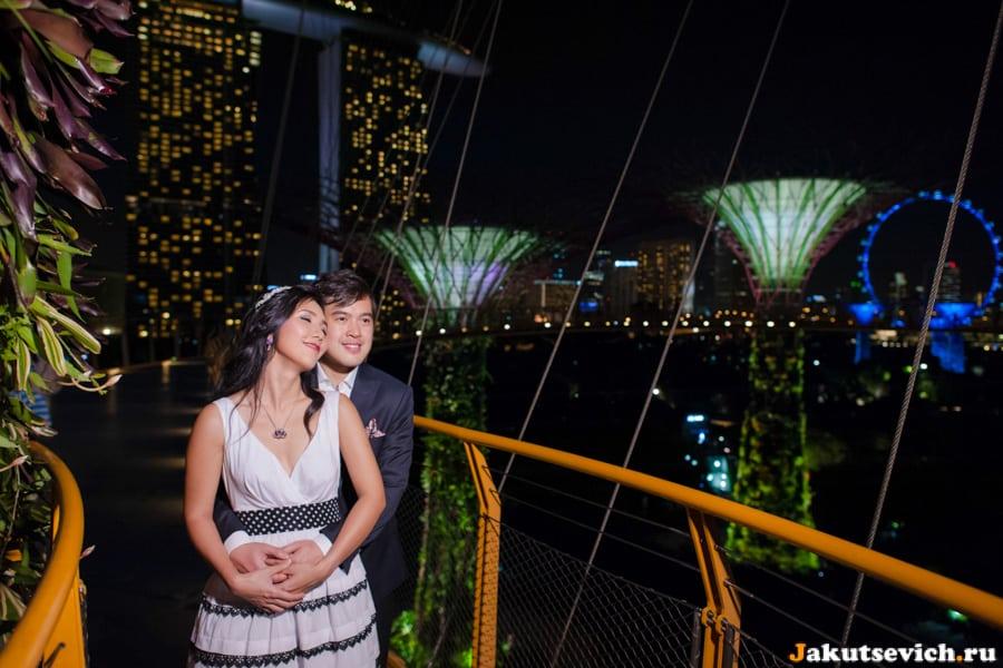 Love Story фотосессия в Сингапуре для Каи и Вильяма