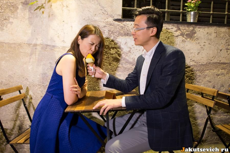 Лав стори фотосессия в Ватикане для Ванессы и Нико